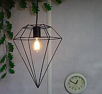Подвесной металлический светильник, черный цвет AR-004764, фото 1