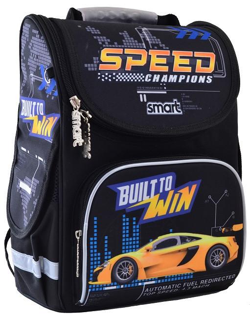 555991 Рюкзак каркасный Smart PG-11 Speed Champions 26*34*14