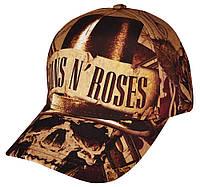 Бейсболка full print Guns N' Roses (skull), фото 1