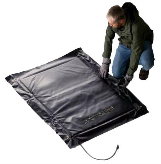 Термомат для прогрева бетона 1000 х 1000 мм