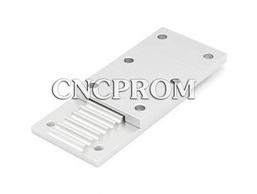 Фиксирующая пластина для ремня открытого типа HTD5M-OP (комбинированная)