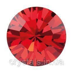 Пришивные стразы в цапах Preciosa (Чехия) ss16 Red Velvet/серебро
