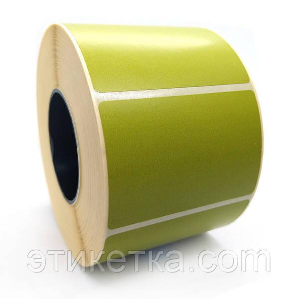 Этикетка T.Eco 58x40 зеленая