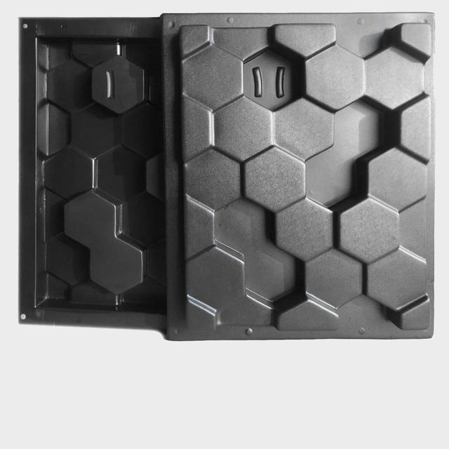 Пластиковые формы для 3D блоков (3D перегородок) из гипса