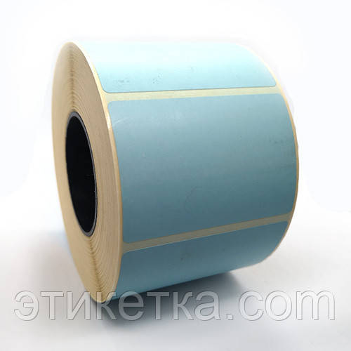 Этикетка T.Eco 58x40 голубая
