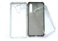 Противоударный силиконовый чехол Huawei P20 Lite Rock Guard Series прозрачный