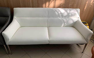 Кресло - банкетка MERIDA (Мерида) белая от Niсolas, экокожа