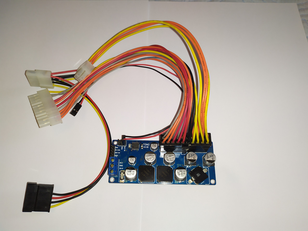 DC-ATX ITPS 6-24В Автомобильный Блок питания 100 Вт Pico PSU модуль 100W