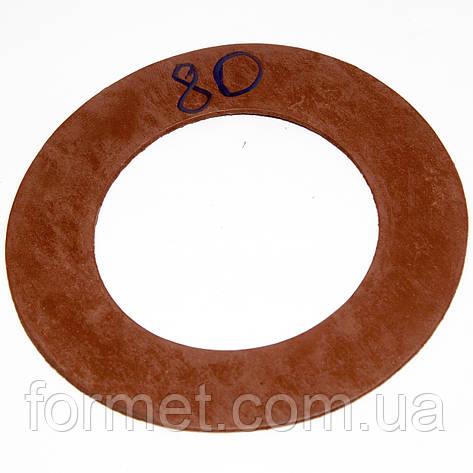 Прокладка фланцевая биконитовая  Ду 80 РУ16, фото 2