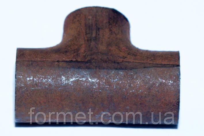 Тройник стальной  27*2,5, фото 2