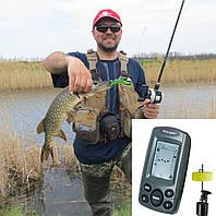 Переносной эхолот Phiradar FF108 для определения точного месторасположения рыбы