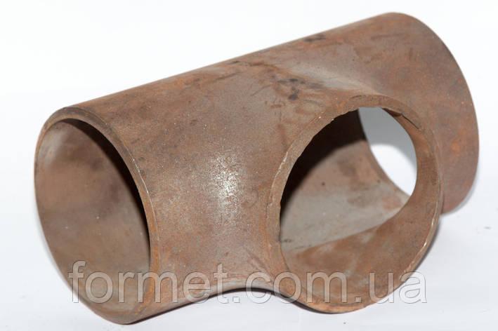 Тройник стальной 133*5,5, фото 2