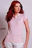 LACOSTE женская футболка поло жіноча лакосте лакоста, фото 6