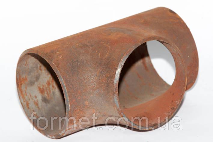 Тройник стальной  89*3,5, фото 2