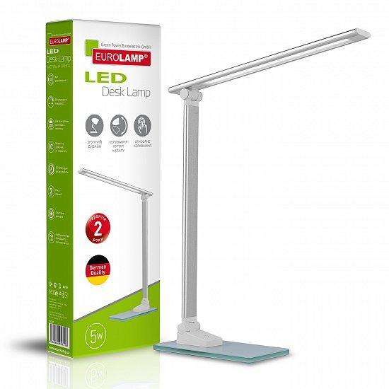 Светильник настольный Eurolamp в стиле хайтек 5W 5500K LED-TLG-2(silver)