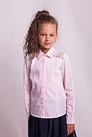 Блузка Свит блуз мод. 7007  с кружевом на плечах р.152, фото 1