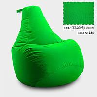 Крісло мішок груша Оксфорд 85*105 см, Колір Салат, фото 1