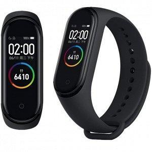 Фитнес браслет Smart Band M4 Mi Band Смарт часы черный