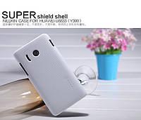 Чехол Nillkin для Huawei U8833 / T8833 Ascend Y300 белый (+пленка)