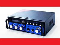 Усилитель звука UKC SN-666BT FM USB 2x300W Блютуз + Караоке
