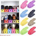 [ОПТ] Регулюється органайзер для взуття кольоровий, фото 6