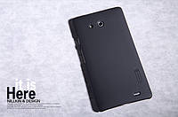 Чехол Nillkin для Huawei Ascend Mate чёрный (+пленка)