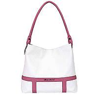 Женская сумка Alba Soboni 150811 белая с розовым