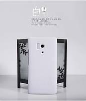 Чехол Nillkin для Huawei Honor 3 белый (+пленка)