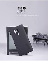 Чехол Nillkin для Huawei Honor 3 чёрный (+пленка), фото 1