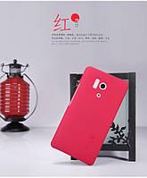 Чехол Nillkin для Huawei Honor 3 красный (+пленка)