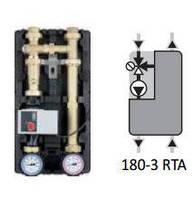 Насосная группа Afriso PrimoTherm 180-3 RTA Wilo Yonos Para 25/6 RKC 45 °C (арт. 77542)