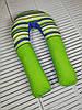 """Подушка для беременных, подушка обнимашка Подкова """"Green tale"""""""