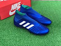 Бутсы Adidas Predator 18+FG/адидас предатор/футбольная обувь(1151)