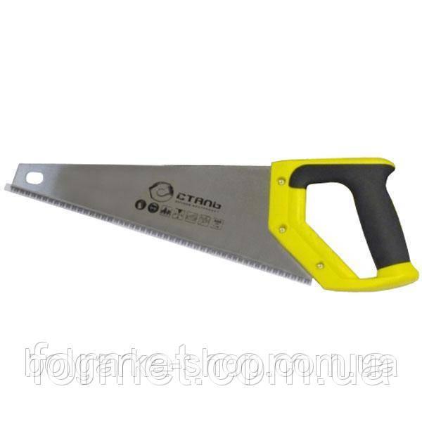 Ножовка по дереву 350мм Сталь