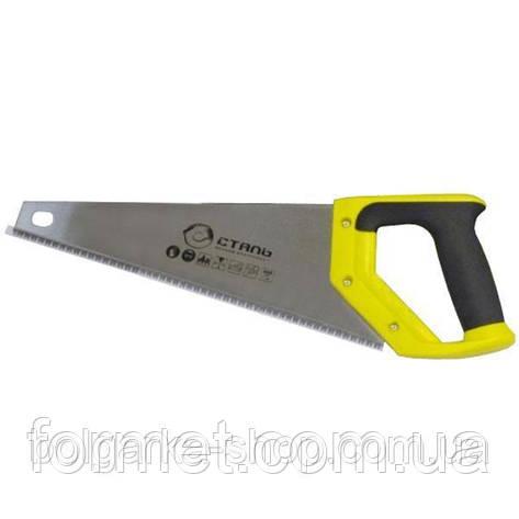 Ножовка по дереву 350мм Сталь, фото 2