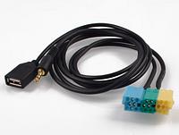 Кабель AUX USB + 3,5 мм кабель адаптера для Kia Sportage для hyundai для kia Sportage
