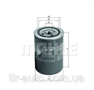 Фильтр топливный SCANIA 94, 114, 124, 144 ( MAHLE ) KC94