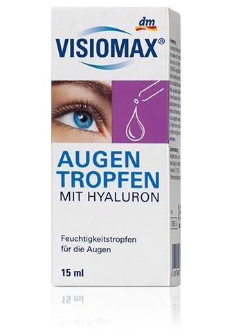 VISIOMAX  Augentropfen глазные капли с гиалуроновой кислотой (слеза) 15мл