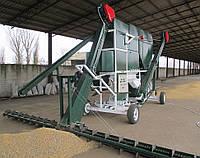 Мобильный ЗАВ: самопередвижной зерноочистительный комплекс СОК - 25