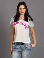 Легкая женская футболка от производителя