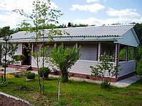 Строительство частного дома из газобетона.