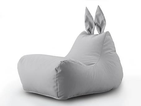 Кресло мешок Зайка цвет Серый, фото 2