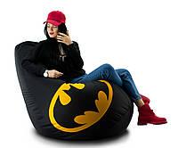 Кресло мешок груша Бэтмен 90*130 см , фото 1