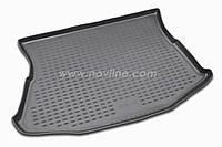 Коврик в багажник ALFA ROMEO 147 c 2000- , цвет:черный ,производитель NovLine