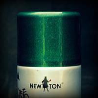 Эмаль универсальная с эффектом металик NEW TON зеленая Зеленый