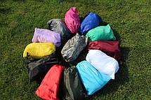 Надувной шезлонг Ламзак, биван, матрас Цвет Красный, фото 3