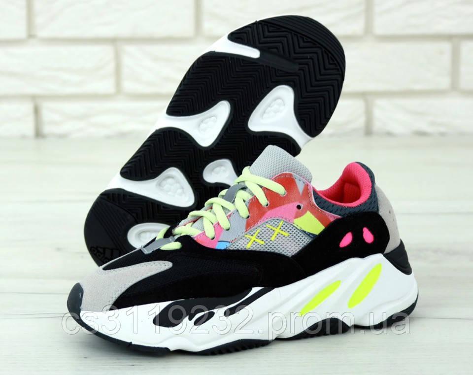 Жіночі кросівки Adidas Yeezy Boost 700 Wave Runner (багатобарвні)