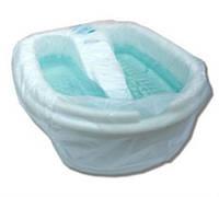 Чехол полиэтиленовый на ванночку для педикюра 80*90 см, 50 шт