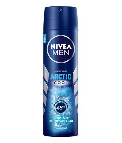 "Мужской дезодорант-спрей Nivea ""Arctic Cool"""
