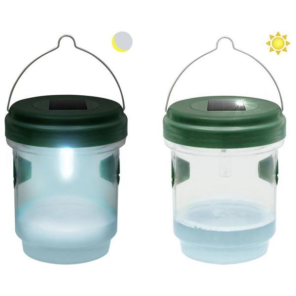 Пастка для комах на сонячній батареї 2 в 1 / Ловушка для насекомых на солнечной батарее 2 в 1
